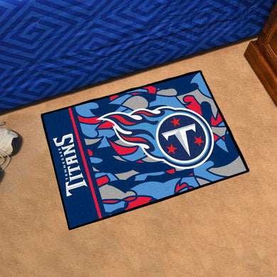 Tennessee Titans Quick Snap Starter Rug - 19