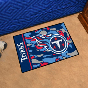 "Tennessee Titans Quick Snap Starter Rug - 19""x30"""