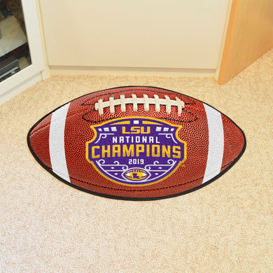 LSU Tigers 2019 CFP Champions Football Mat