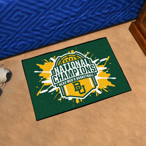 Baylor Bears 2021 NCAA Basketball National Championship Starter Mat