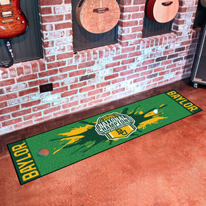 Baylor Bears 2021 NCAA Basketball National Championship Putting Green Runner