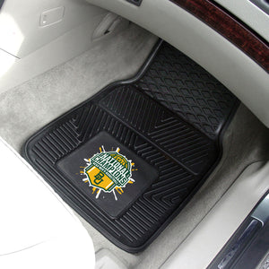 Baylor Bears 2021 NCAA Basketball National Championship 2-pc Vinyl Car Mat Set