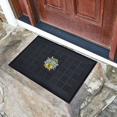 Baylor Bears 2021 NCAA Basketball National Championship Medallion Door Mat