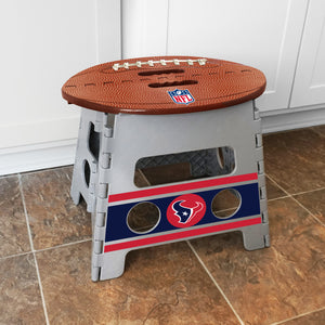 Houston Texans Folding Step Stool