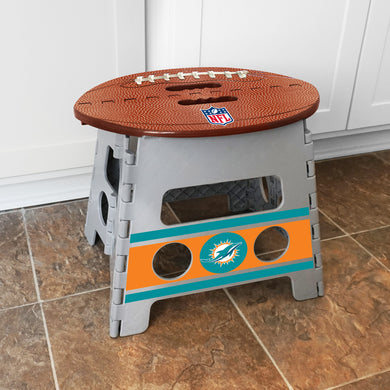 Miami Dolphins Folding Step Stool