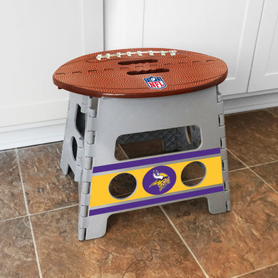 Minnesota Vikings Folding Step Stool