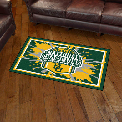 Baylor Bears 2021 NCAA Basketball National Championship 3x5 Rug