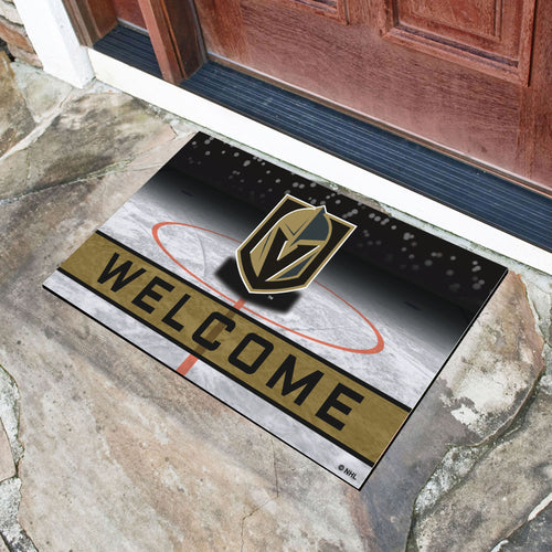 Vegas Golden Knights Crumb Rubber Door Mat - 18