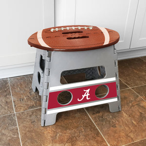 NCAA fan gear Alabama Crimson Tide folding step stool from Sports Fanz