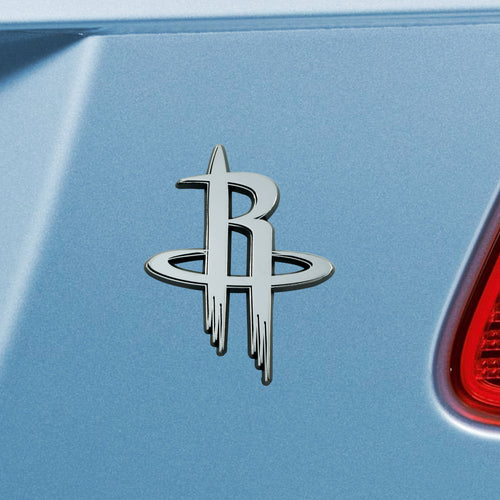 Houston Rockets Chrome Auto Emblem
