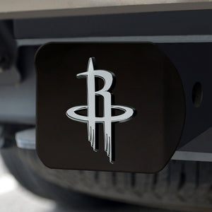 Houston Rockets Black Hitch Cover