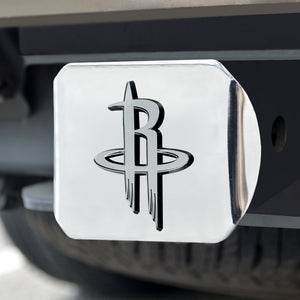 Houston Rockets Chrome Hitch Cover