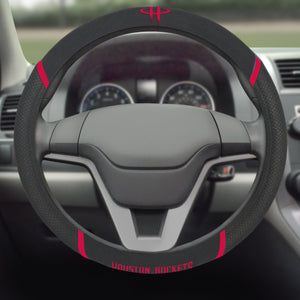 Houston Rockets Steering Wheel Cover