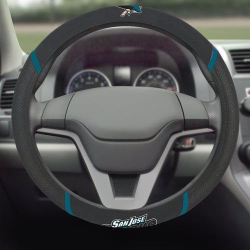 San Jose Sharks Steering Wheel Cover