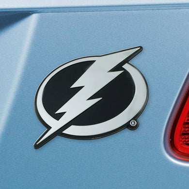 Tampa Bay Lightning Chrome Auto Emblem