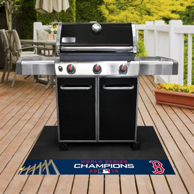 Boston Red Sox Grill Mat 26