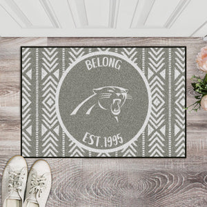 Carolina Panthers Southern Style Door Mat