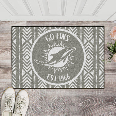 Miami Dolphins Southern Style Door Mat