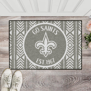 New Orleans Saints Southern Style Door Mat