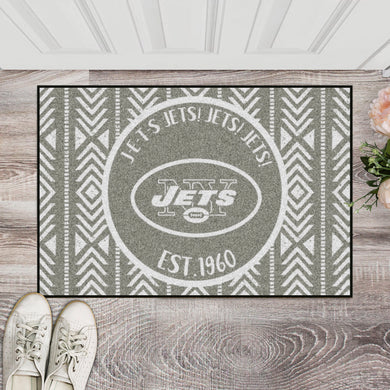 New York Jets Southern Style Door Mat