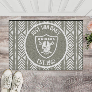 Oakland Raiders Southern Style Door Mat