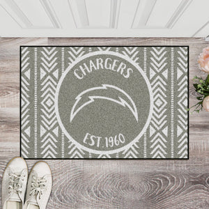 Los Angeles Chargers Southern Style Door Mat