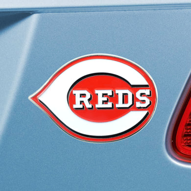Cincinnati Reds Color Chrome Auto Emblem