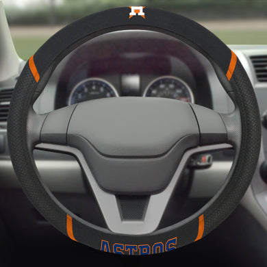 Houston Astros Steering Wheel Cover