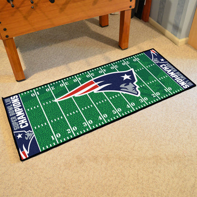 New England Patriots Super Bowl 53 Champions Football Field Runner - 30