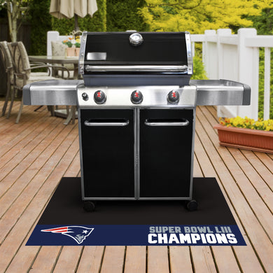 New England Patriots Super Bowl 53 Champions Grill Mat 26