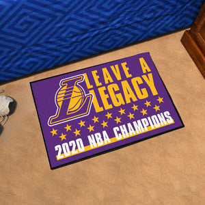 Los Angeles Lakers 2020 NBA Finals Champions Starter Mat