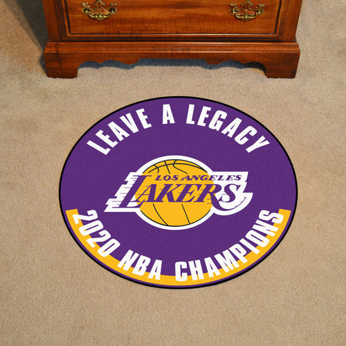 Los Angeles Lakers 2020 NBA Finals Champions Basketball Rug- 27