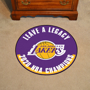 Los Angeles Lakers 2020 NBA Finals Champions Basketball Rug- 27""