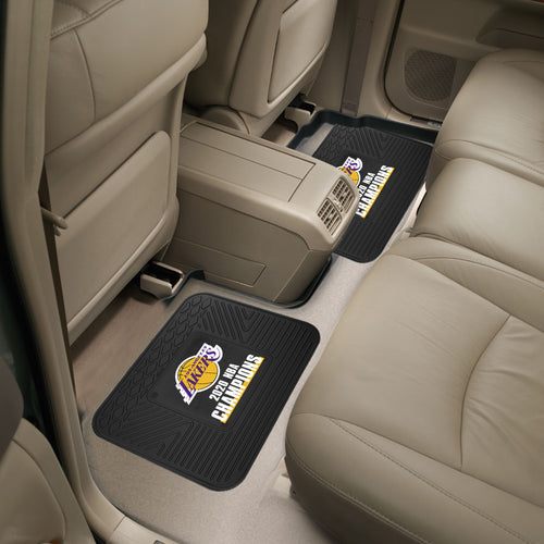 Los Angeles Lakers 2020 NBA Finals Champions Utility Car Mat Set