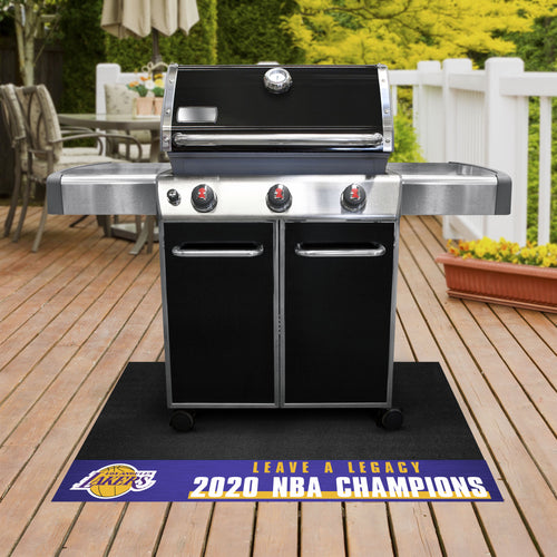 Los Angeles Lakers 2020 Finals Champions Grill Mat 26