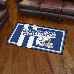 Indianapolis Colts Dynasty Rug - 3'x5'