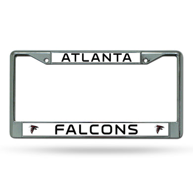 Atlanta Falcons Chrome License Plate Frame