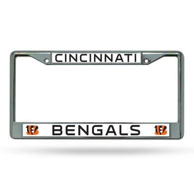 Cincinnati Bengals Chrome License Plate Frame