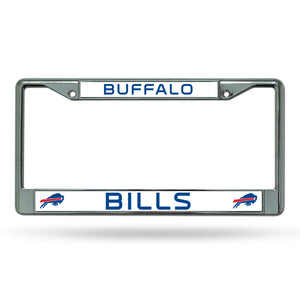 Buffalo Bills Chrome License Plate Frame