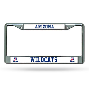 Arizona Wildcats Chrome License Plate Frame