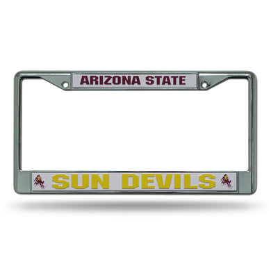 Arizona State Sun Devils Chrome License Plate Frame