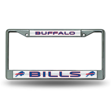 Buffalo Bills Bling Chrome License Plate Frame