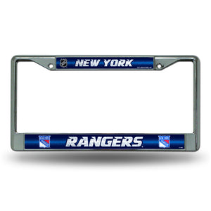 New York Rangers Bling License Plate Frame