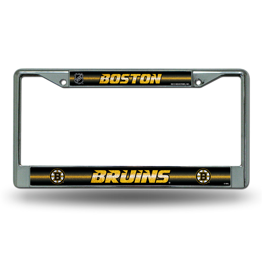 Boston Bruins Bling License Plate Frame