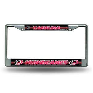 Carolina Hurricanes Bling License Plate Frame