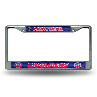 Montreal Canadiens Bling License Plate Frame