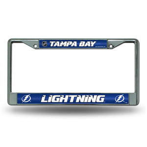 Tampa Bay Lightning  Bling License Plate Frame