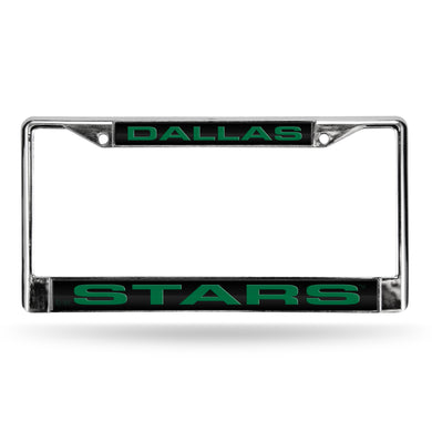 Dallas Stars Laser Chrome License Plate Frame