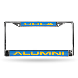 UCLA Bruins Alumni Laser Chrome License Plate Frame