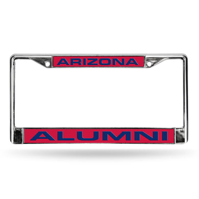 Arizona Wildcats Alumni Laser Chrome License Plate Frame
